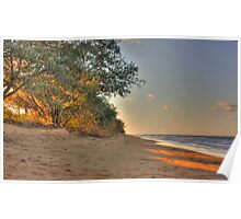 SUNSET AT MY BEACH Poster