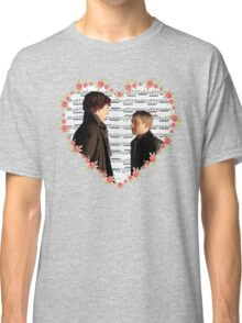 Johnlock-Heart (Two) Classic T-Shirt