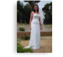Alicia Wedding 2 Canvas Print