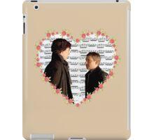 Johnlock-Heart (Two) iPad Case/Skin