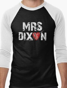 Mrs Dixon? Men's Baseball ¾ T-Shirt
