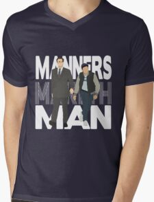 Manners Maketh Man Mens V-Neck T-Shirt