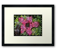 Beauty Is a Puzzle Framed Print