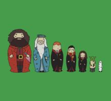 Potter-themed Nesting Dolls Kids Clothes