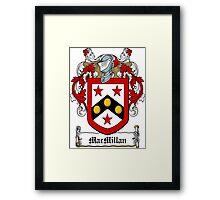 MacMillian (Ulster) Framed Print