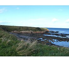 Clifftop View Photographic Print