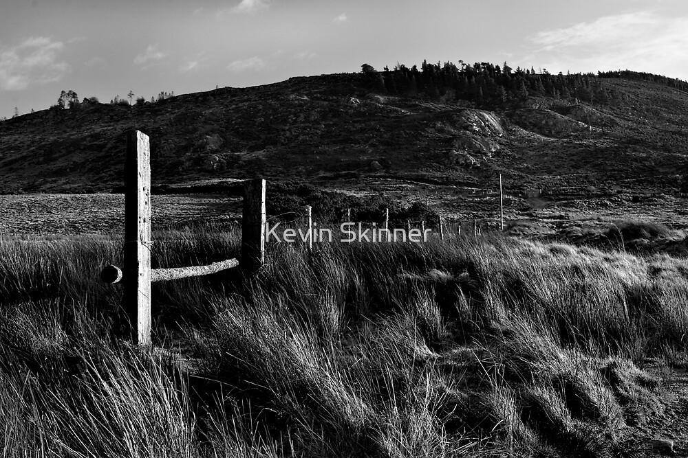 Lochindorb - Low Sun On Craig Tiribeg by Kevin Skinner