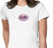 Key West.  Womens Fitted T-Shirt