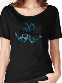 Deep Blue Octopus Women's Relaxed Fit T-Shirt