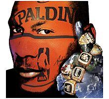 Winning, Michael Jordan Earth Fist, Motivational Photographic Print