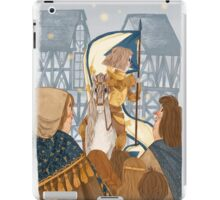 Joan of Arc - triumph iPad Case/Skin