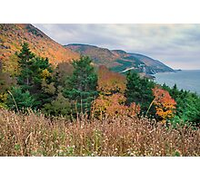Autumn in the Highlands of Nova Scotia Photographic Print