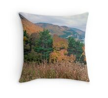 Autumn in the Highlands of Nova Scotia Throw Pillow