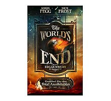 Worlds end Photographic Print