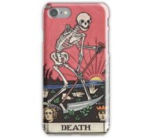 Death Tarot iPhone Case/Skin