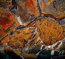 Flagstone abstract by Julie Marks