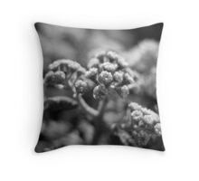 Mania B&W Throw Pillow