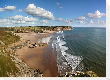 Three Cliffs Bay by Anthony Thomas