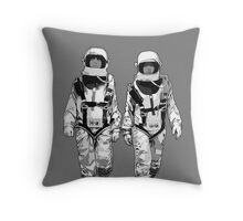 The Hero Walk Throw Pillow