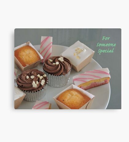 Cake Variety for Someone Special Canvas Print