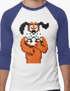 Duck hunt Men's Baseball ¾ T-Shirt