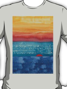 A New Day Dawns original painting T-Shirt