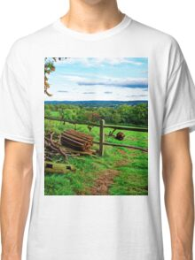 Beautiful English Countryside Classic T-Shirt