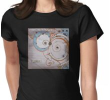 Magick Spirals Womens Fitted T-Shirt