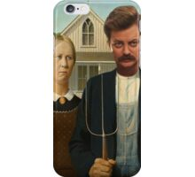 American Ron iPhone Case/Skin