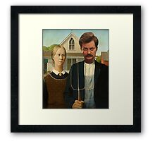 American Ron Framed Print