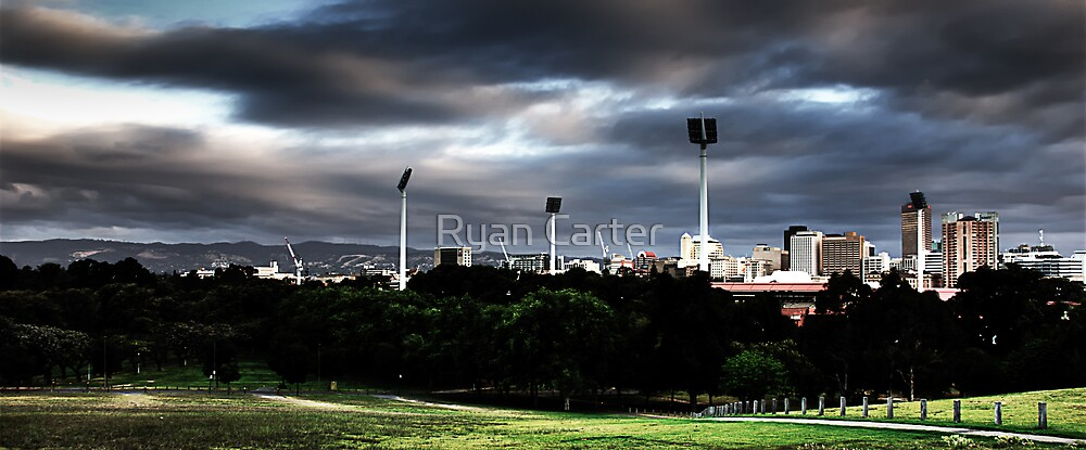 Adelaide from Montefiore Hill. by Ryan Carter