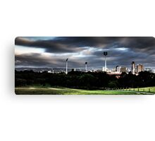 Adelaide from Montefiore Hill. Canvas Print