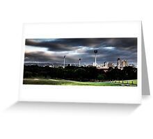 Adelaide from Montefiore Hill. Greeting Card