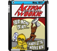 Always let the Wookie win. iPad Case/Skin