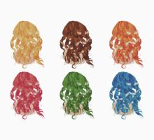 Curly Hair Styles 2 Baby Tee
