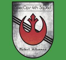 SpecOps Squad 4th, Rebel Alliance.  Kids Clothes