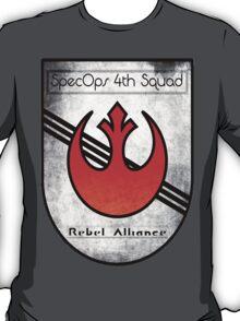SpecOps Squad 4th, Rebel Alliance.  T-Shirt