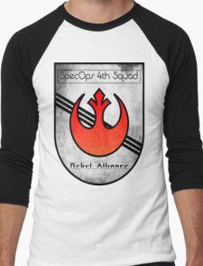 SpecOps Squad 4th, Rebel Alliance.  Men's Baseball ¾ T-Shirt