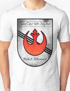 SpecOps Squad 4th, Rebel Alliance.  Unisex T-Shirt