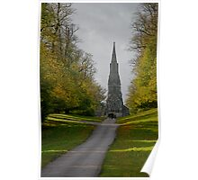 Studley Royal park-St. Mary's church Poster