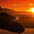 Blazing sunrise by Mark Hughes