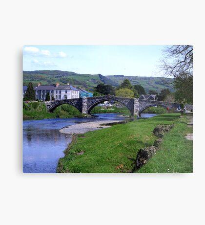 Y Bont Fawr - Llanrwst Bridge -Snowdonia Metal Print