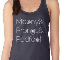 Moony & Pongs & Padfoot Women's Tank Top