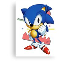 Sonic JP Canvas Print
