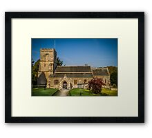 St Georges Prechute Framed Print