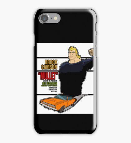 Brock Samson IS MULLET! iPhone Case/Skin