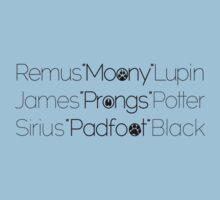MoonyPadfootProngs(black) One Piece - Short Sleeve