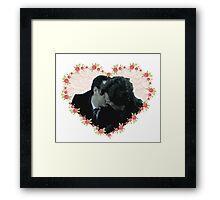 Sheriarty kiss Framed Print