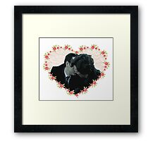 Sheriarty kiss Framed Print