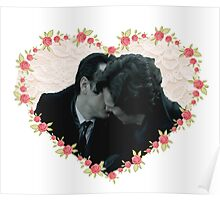 Sheriarty kiss Poster